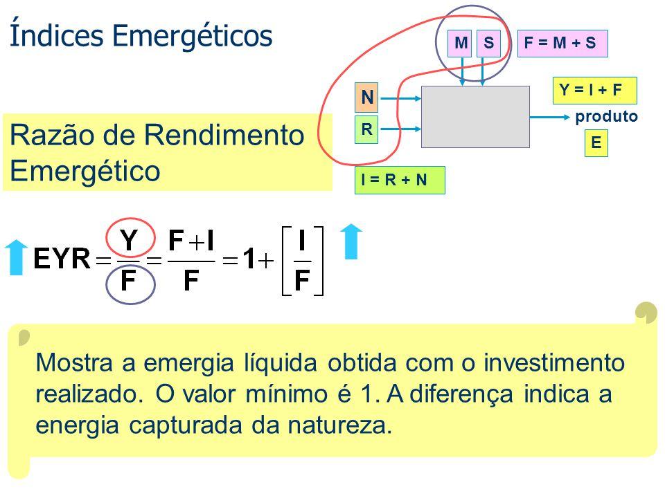Razão de Rendimento Emergético