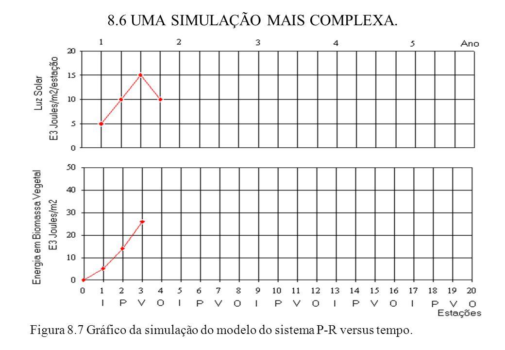 8.6 UMA SIMULAÇÃO MAIS COMPLEXA.
