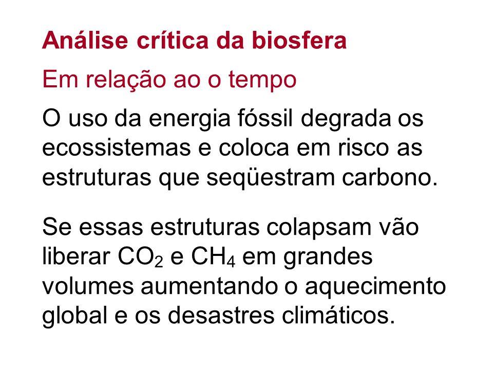 Análise crítica da biosfera
