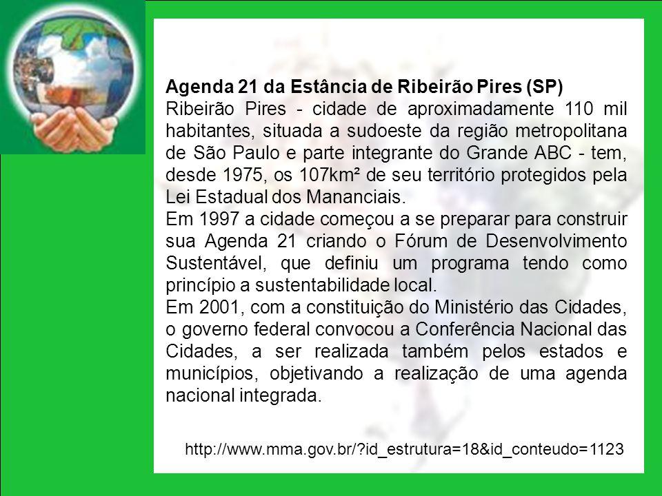Agenda 21 da Estância de Ribeirão Pires (SP)