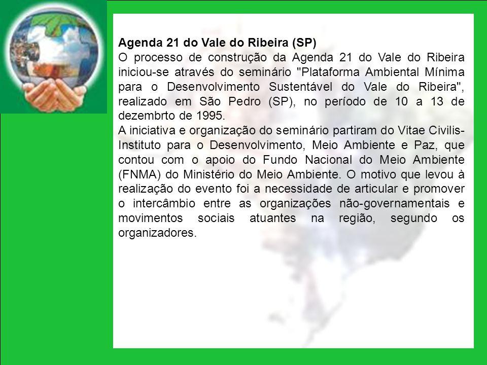 Agenda 21 do Vale do Ribeira (SP)
