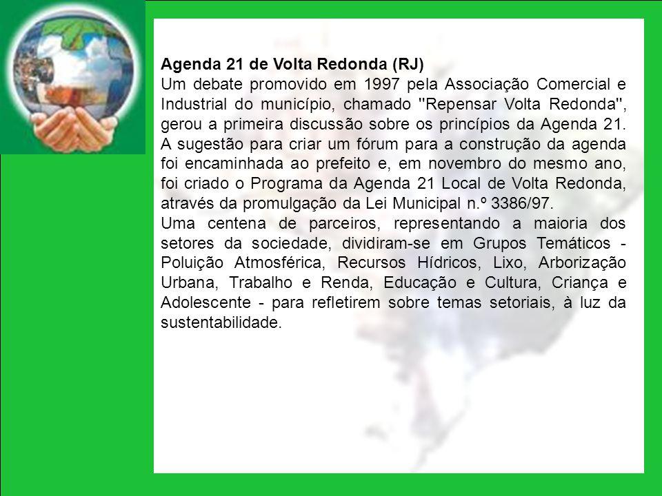 Agenda 21 de Volta Redonda (RJ)
