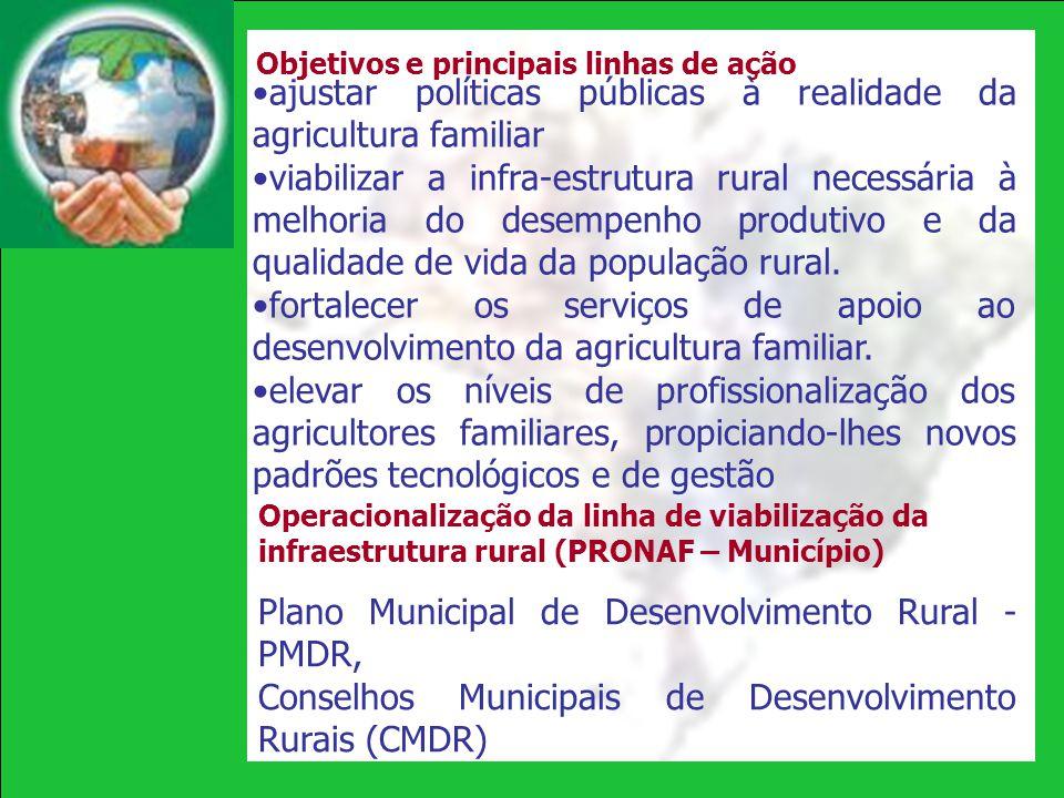 ajustar políticas públicas à realidade da agricultura familiar