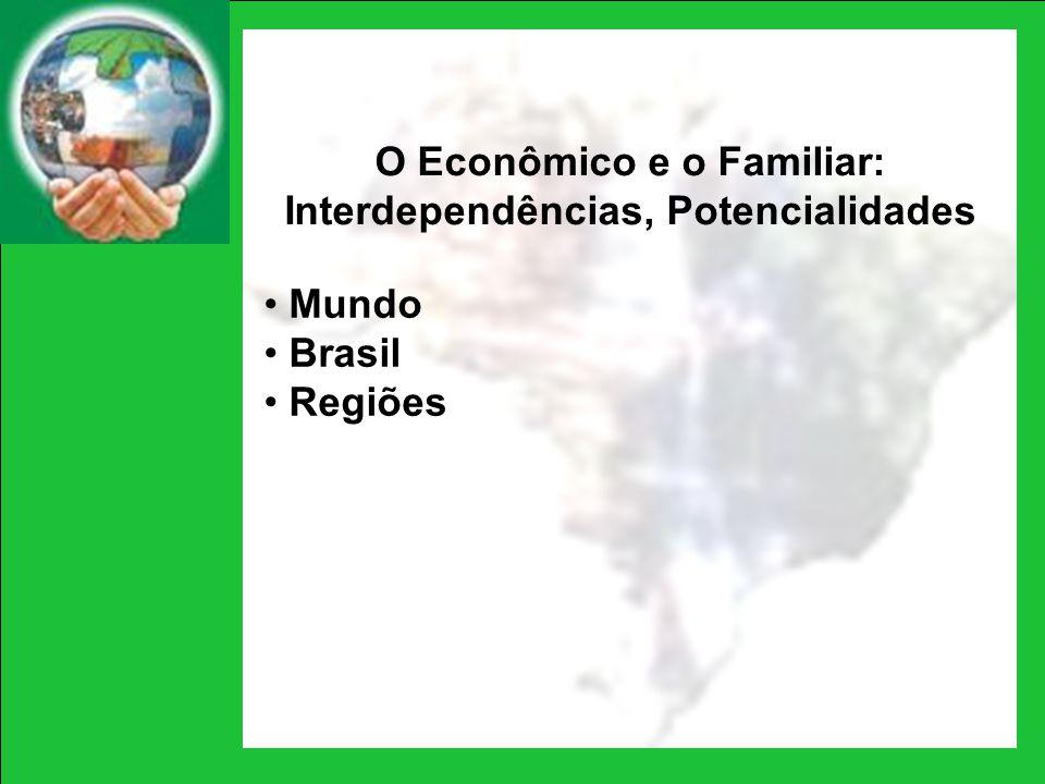 O Econômico e o Familiar: Interdependências, Potencialidades