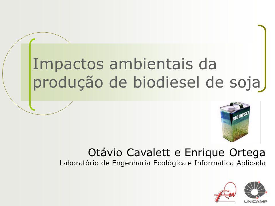 Impactos ambientais da produção de biodiesel de soja