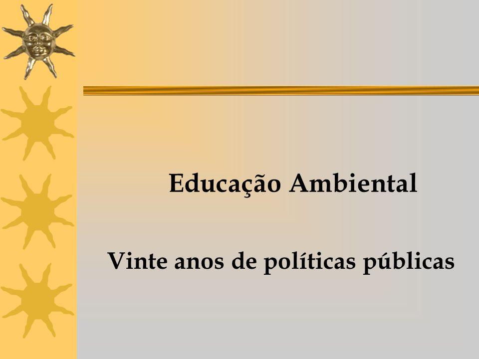 Vinte anos de políticas públicas