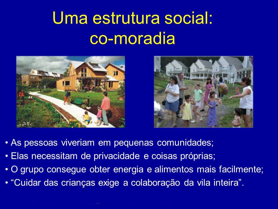 Uma estrutura social: co-moradia
