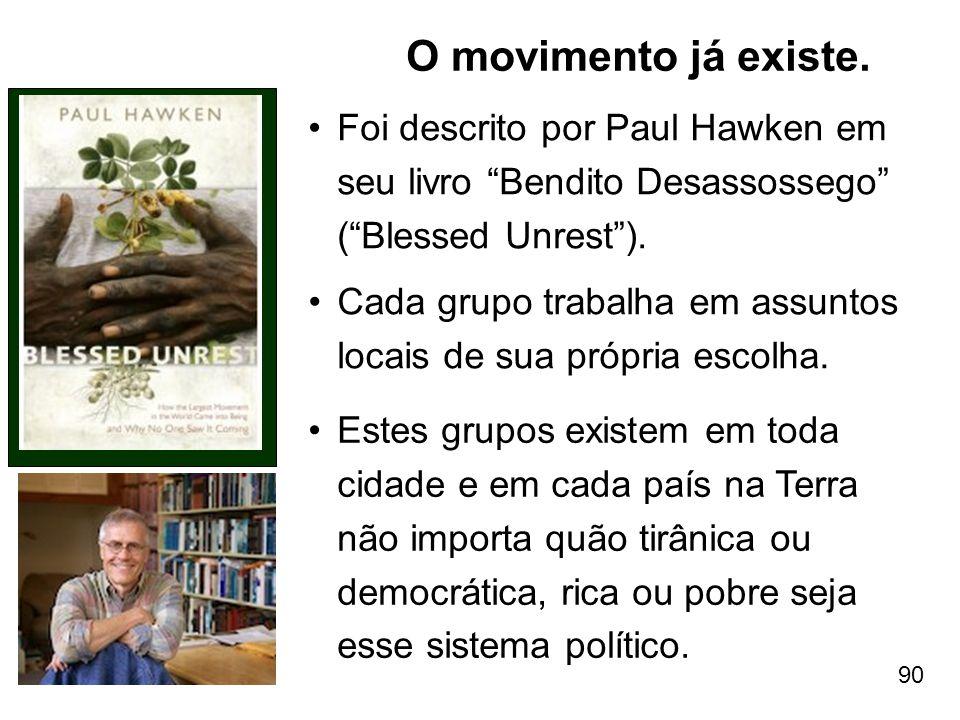 O movimento já existe. Foi descrito por Paul Hawken em seu livro Bendito Desassossego ( Blessed Unrest ).