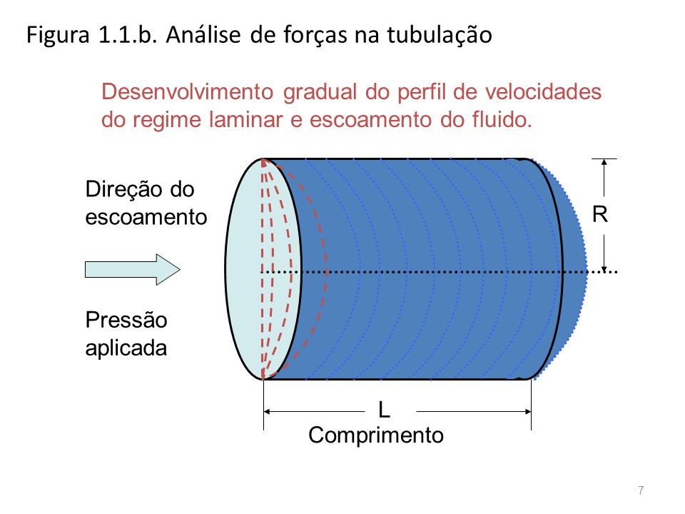 Figura 1.1.b. Análise de forças na tubulação