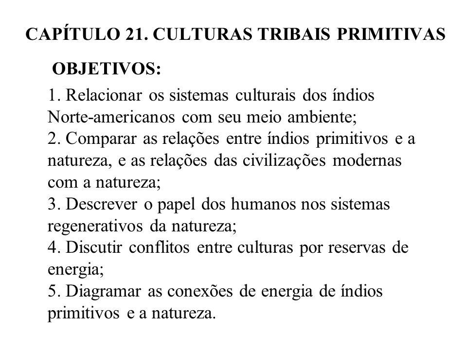 CAPÍTULO 21. CULTURAS TRIBAIS PRIMITIVAS