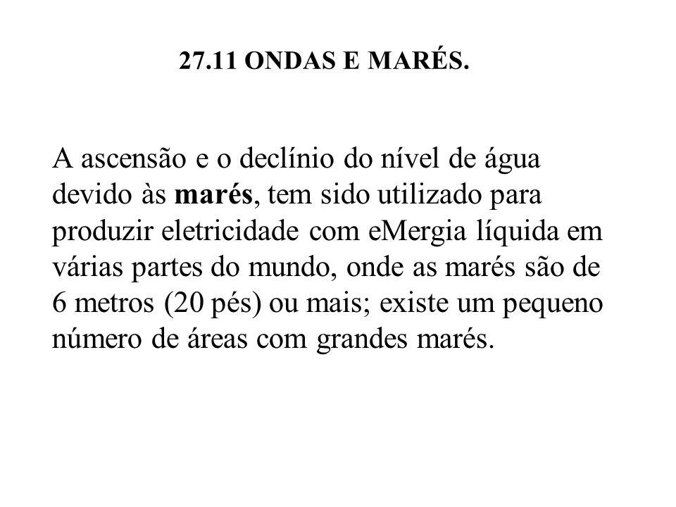 27.11 ONDAS E MARÉS.