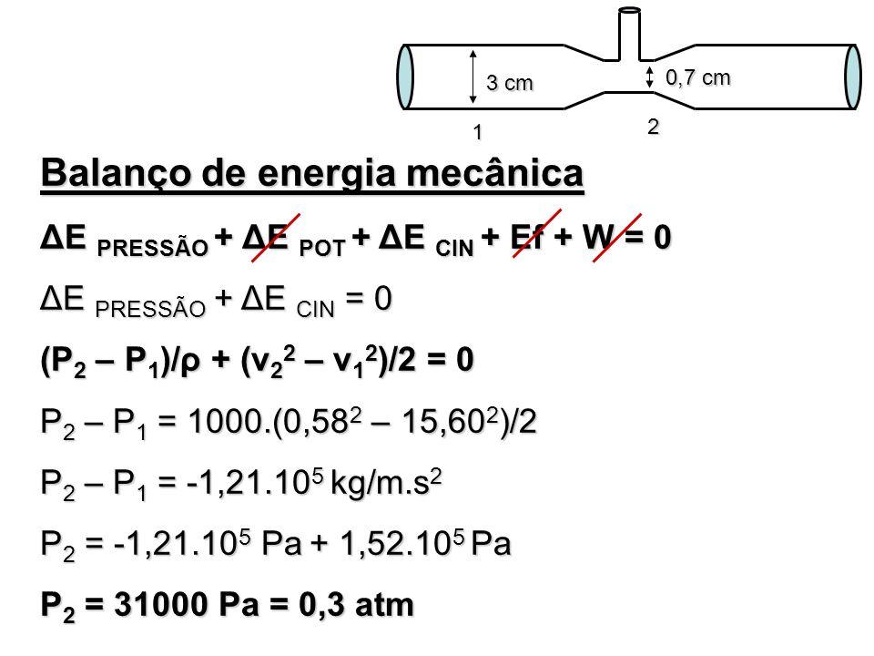 Balanço de energia mecânica
