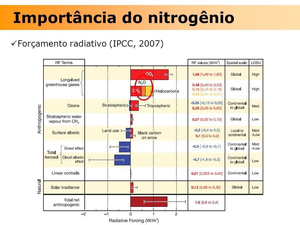 Importância do nitrogênio
