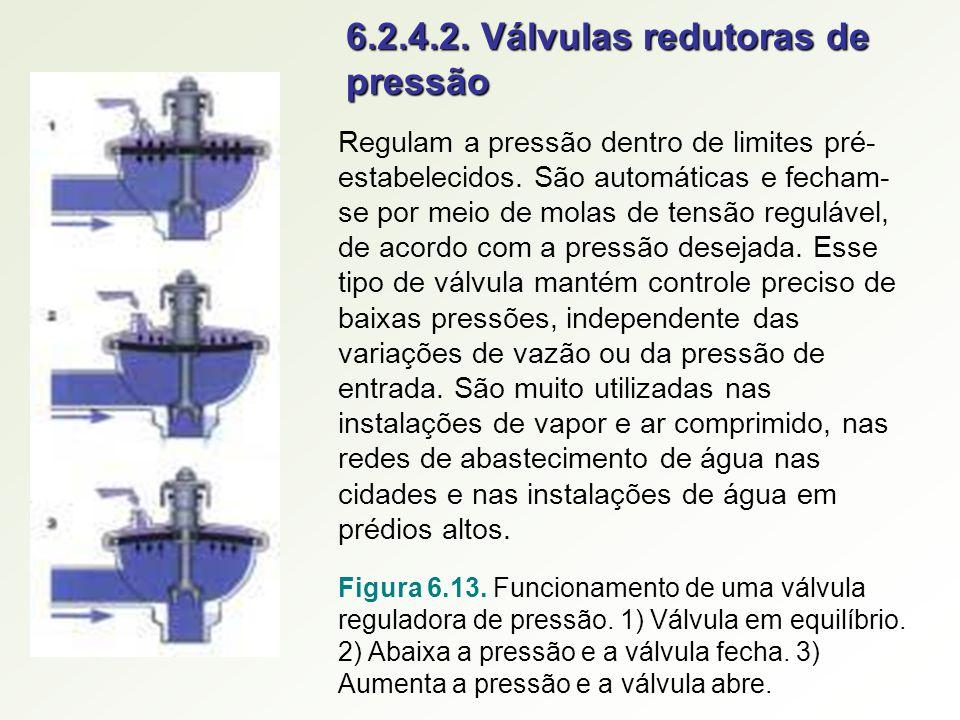 6.2.4.2. Válvulas redutoras de pressão