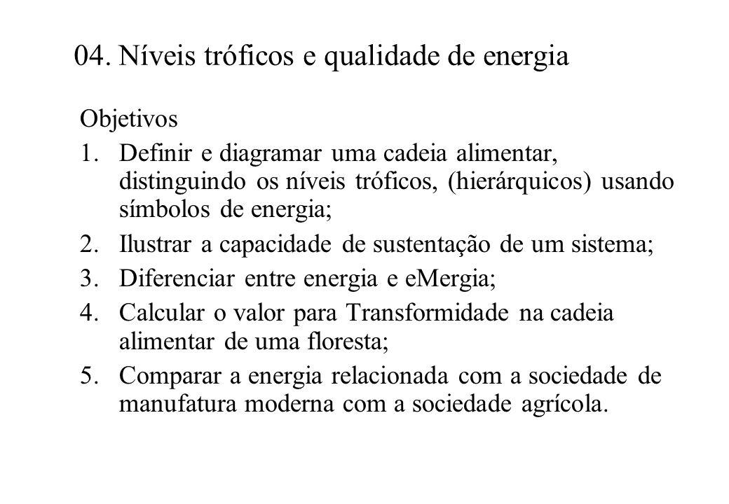 04. Níveis tróficos e qualidade de energia
