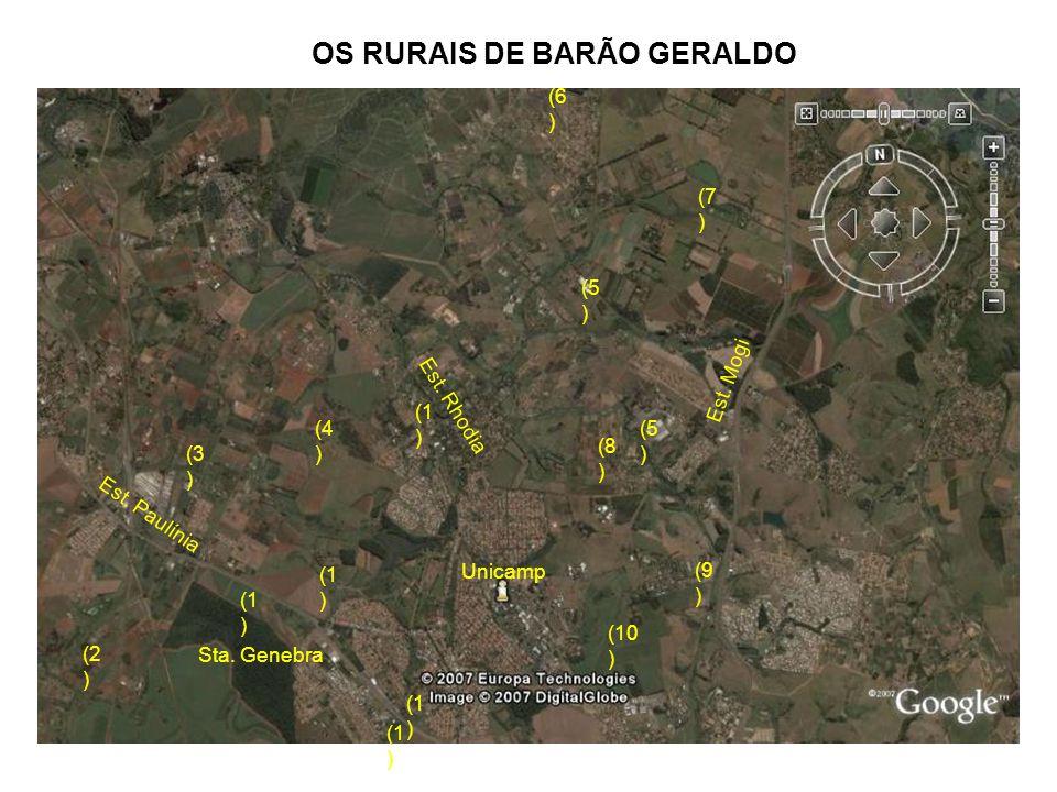 OS RURAIS DE BARÃO GERALDO