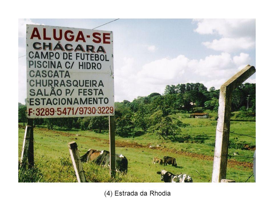 (4) Estrada da Rhodia