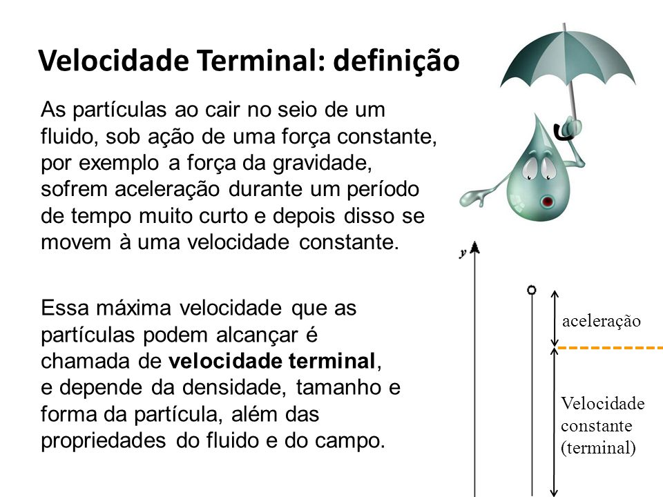 Velocidade Terminal: definição