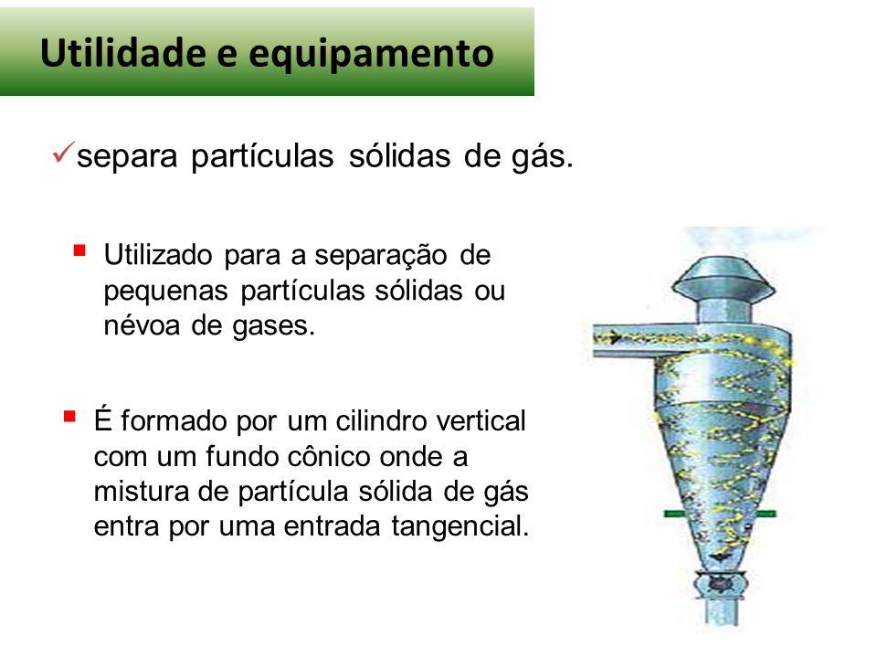 Utilidade e equipamento