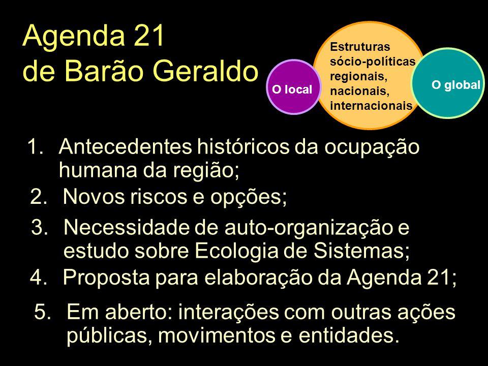 Agenda 21 de Barão Geraldo
