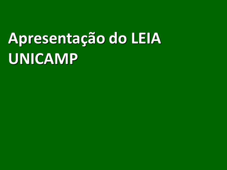 Apresentação do LEIA UNICAMP