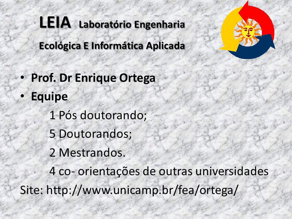 LEIA Laboratório Engenharia Ecológica E Informática Aplicada