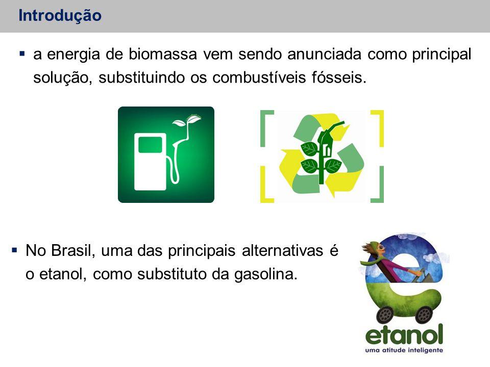 Introdução a energia de biomassa vem sendo anunciada como principal solução, substituindo os combustíveis fósseis.