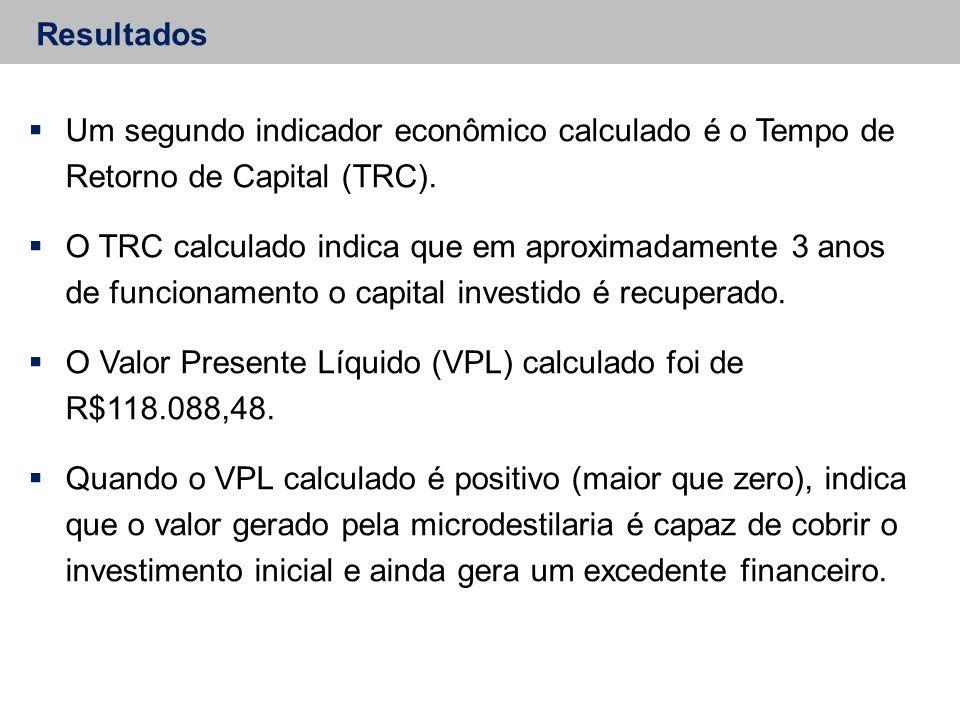 O Valor Presente Líquido (VPL) calculado foi de R$118.088,48.