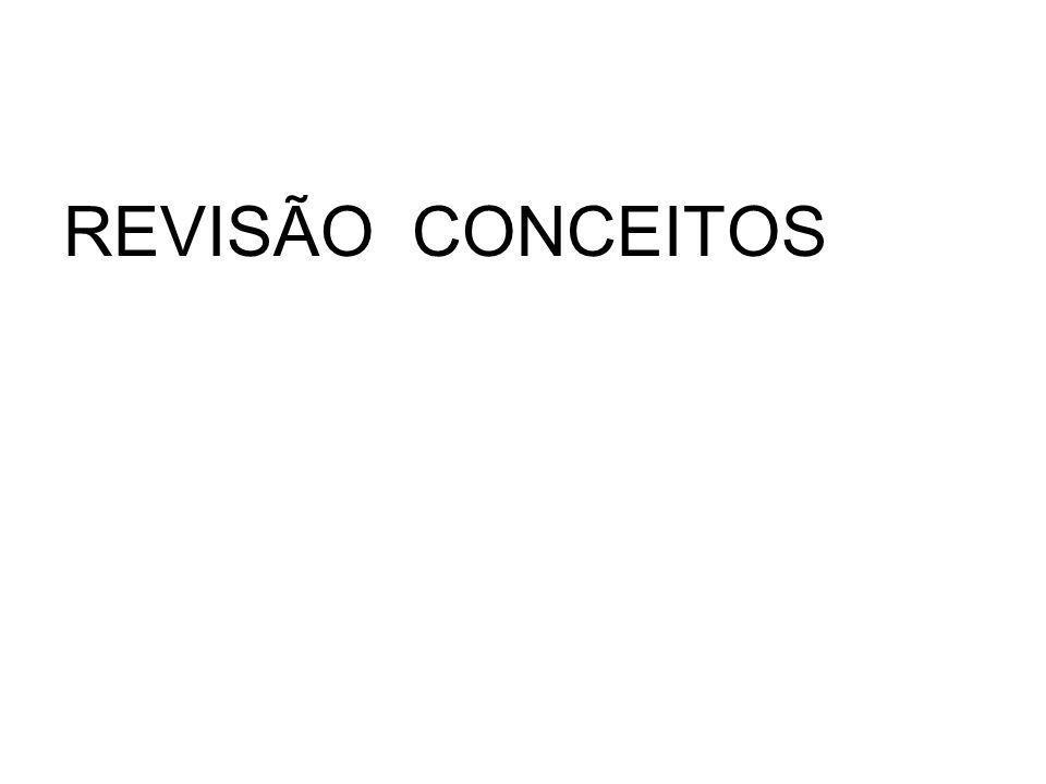 REVISÃO CONCEITOS