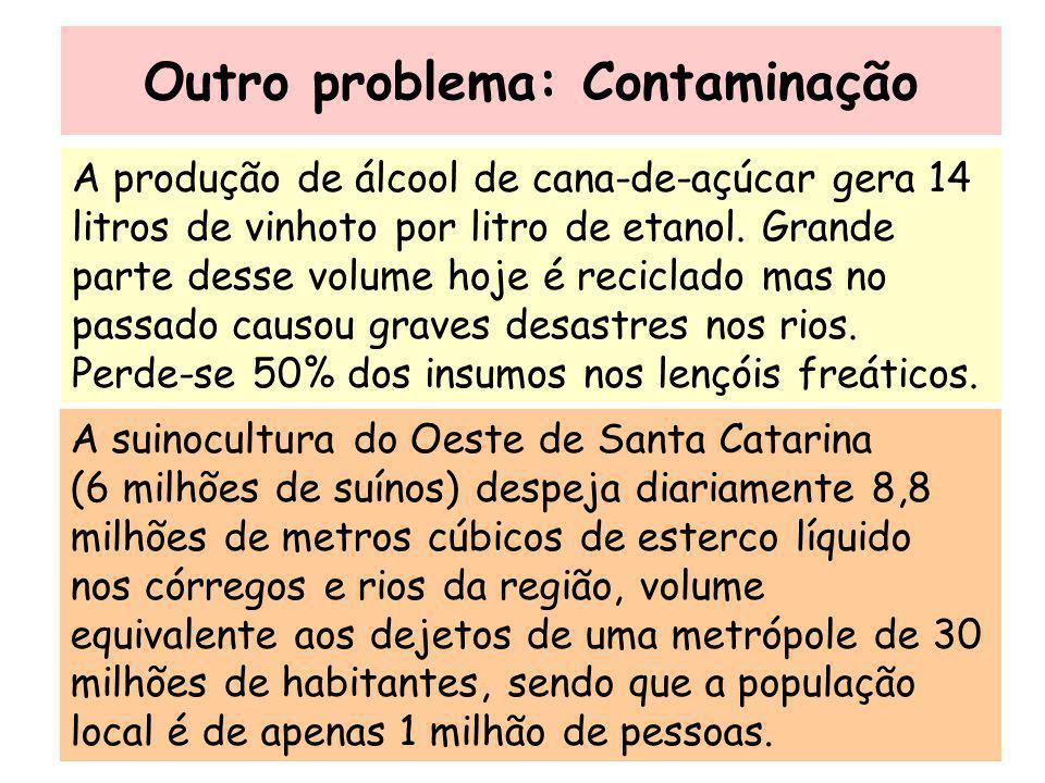 Outro problema: Contaminação