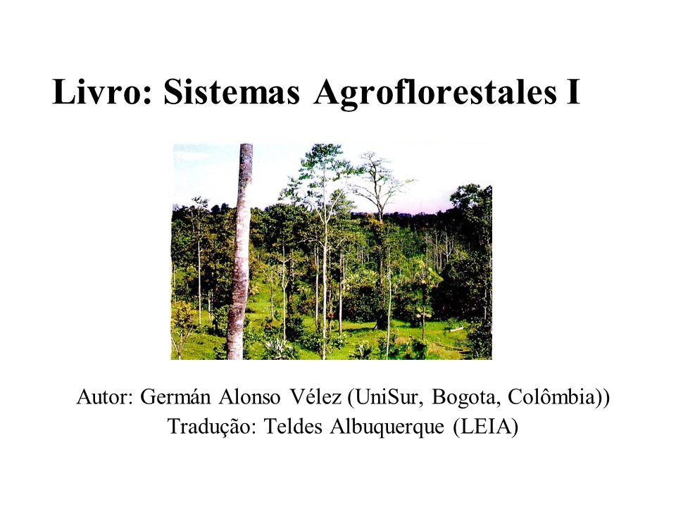 Livro: Sistemas Agroflorestales I