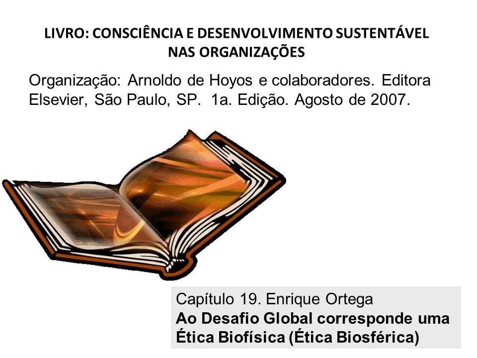 LIVRO: CONSCIÊNCIA E DESENVOLVIMENTO SUSTENTÁVEL NAS ORGANIZAÇÕES