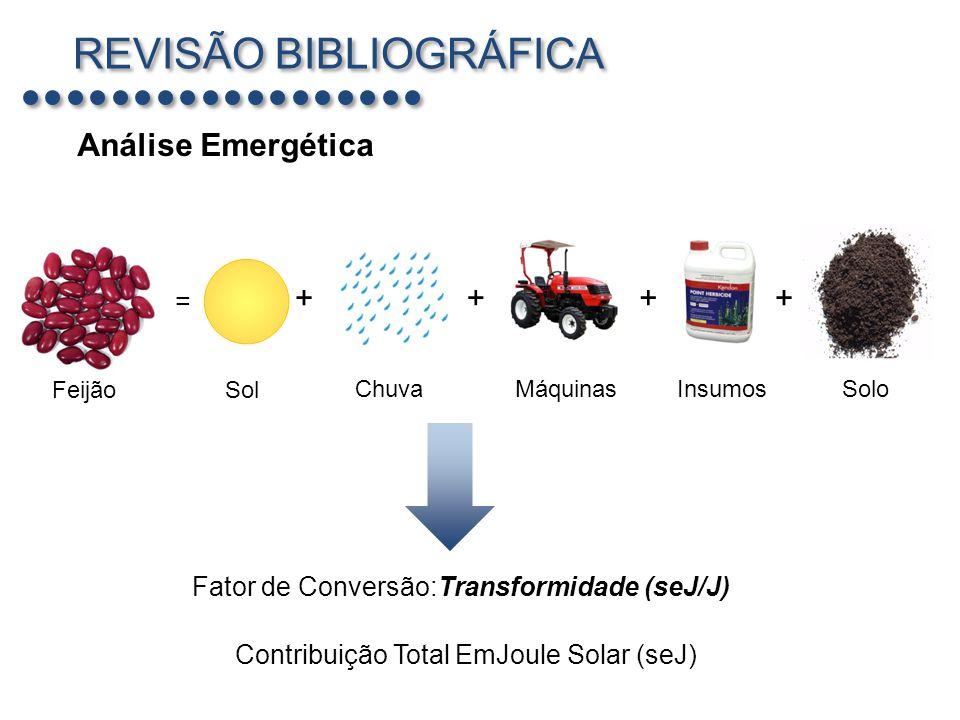 Fator de Conversão:Transformidade (seJ/J)