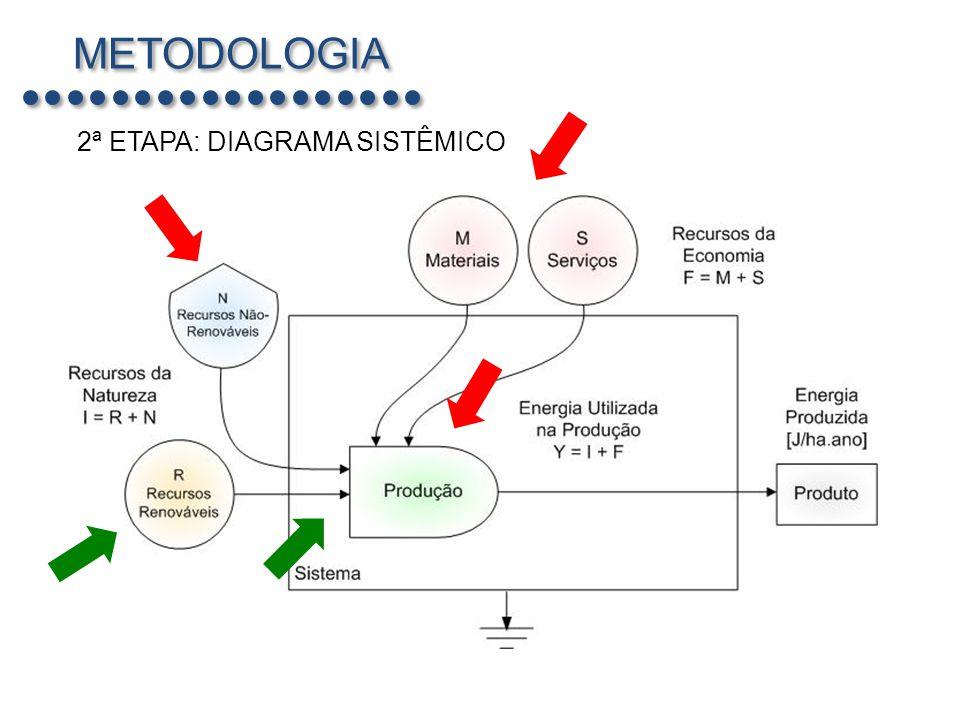 METODOLOGIA 2ª ETAPA: DIAGRAMA SISTÊMICO