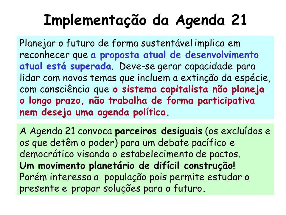 Implementação da Agenda 21