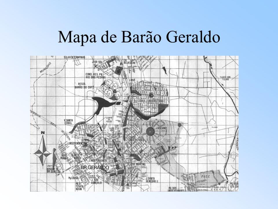 Mapa de Barão Geraldo