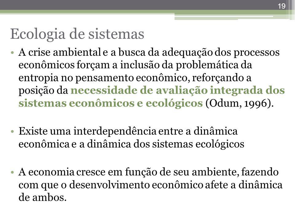 Ecologia de sistemas