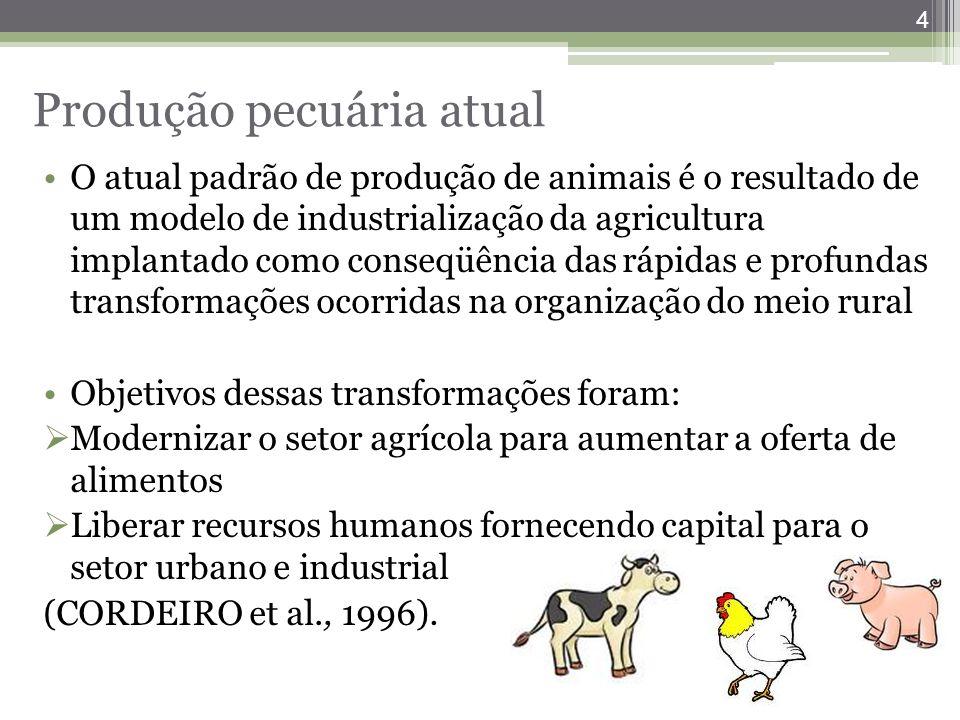 Produção pecuária atual