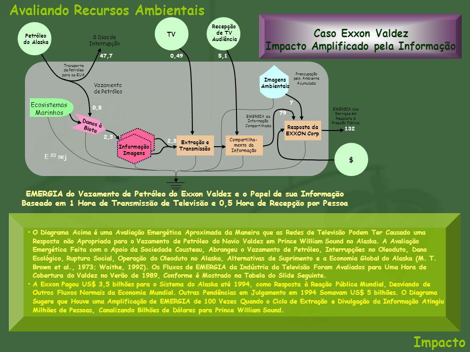 Caso Exxon Valdez Impacto Amplificado pela Informação