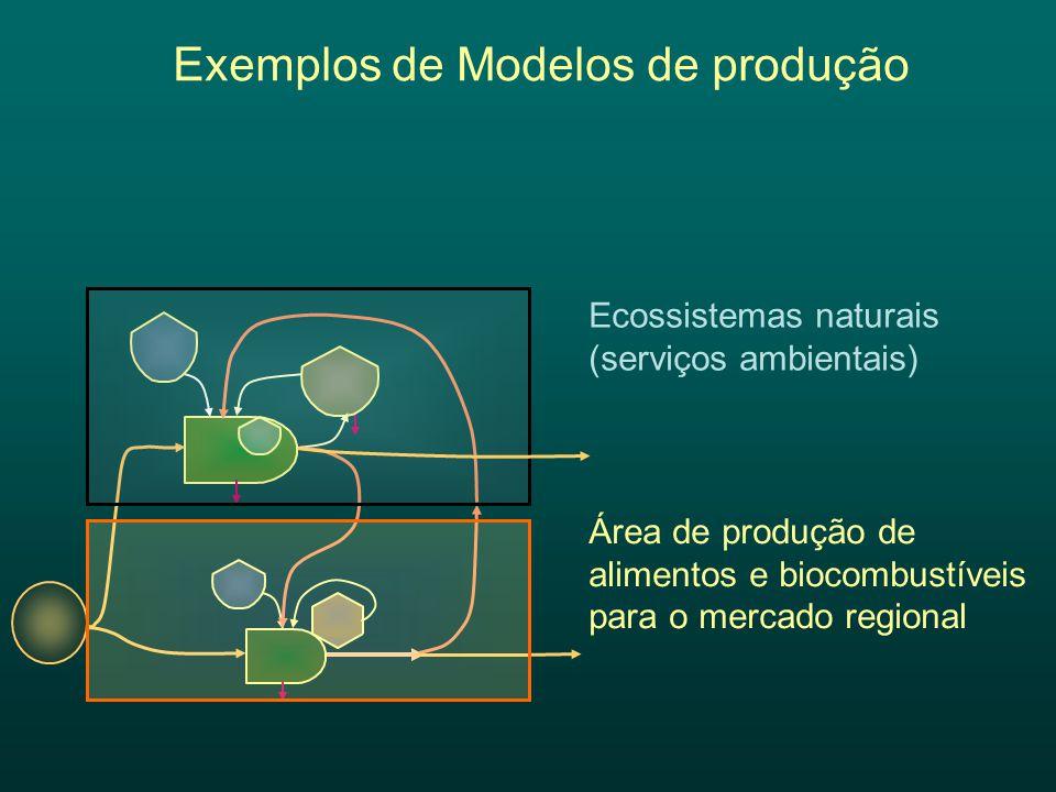 Exemplos de Modelos de produção