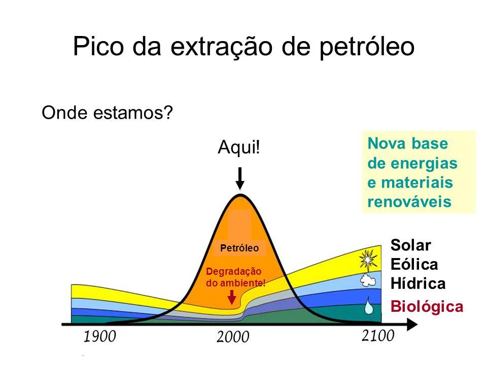 Pico da extração de petróleo