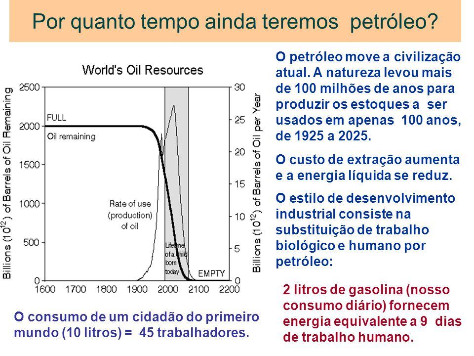 Por quanto tempo ainda teremos petróleo