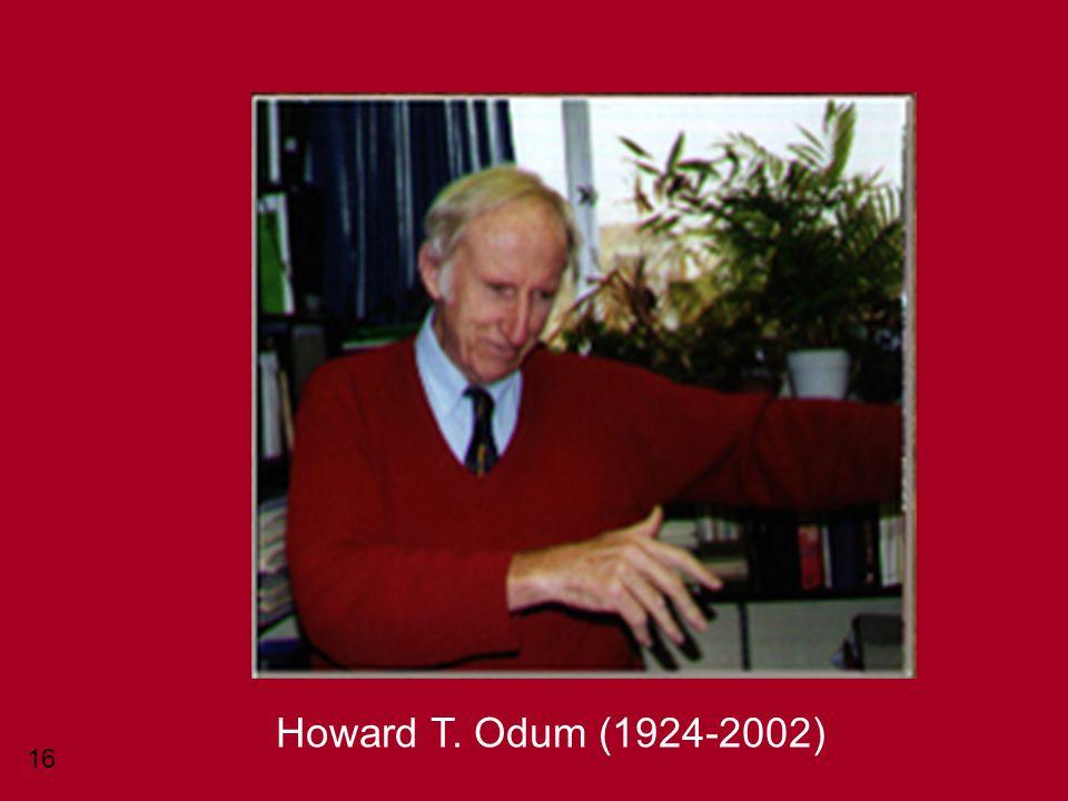 Howard T. Odum (1924-2002)