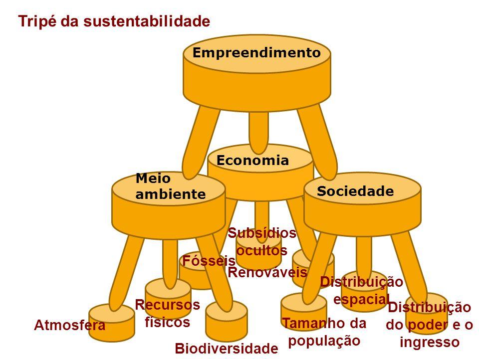 Distribuição espacial Distribuição do poder e o ingresso