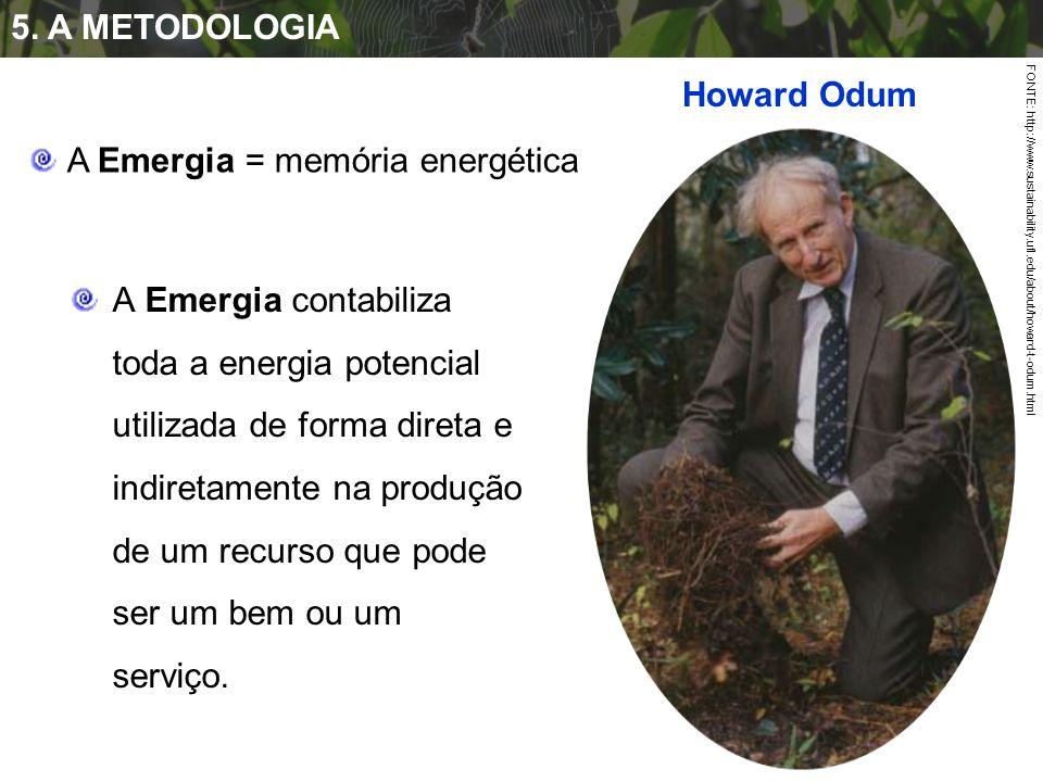 A Emergia = memória energética