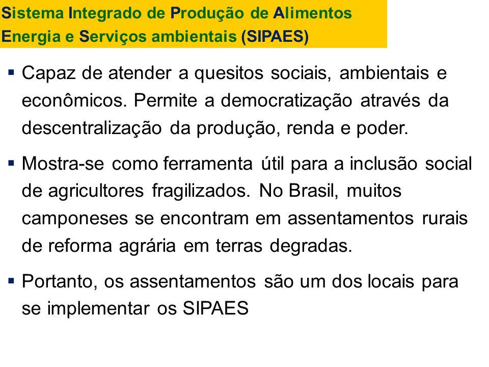Sistema Integrado de Produção de Alimentos Energia e Serviços ambientais (SIPAES)