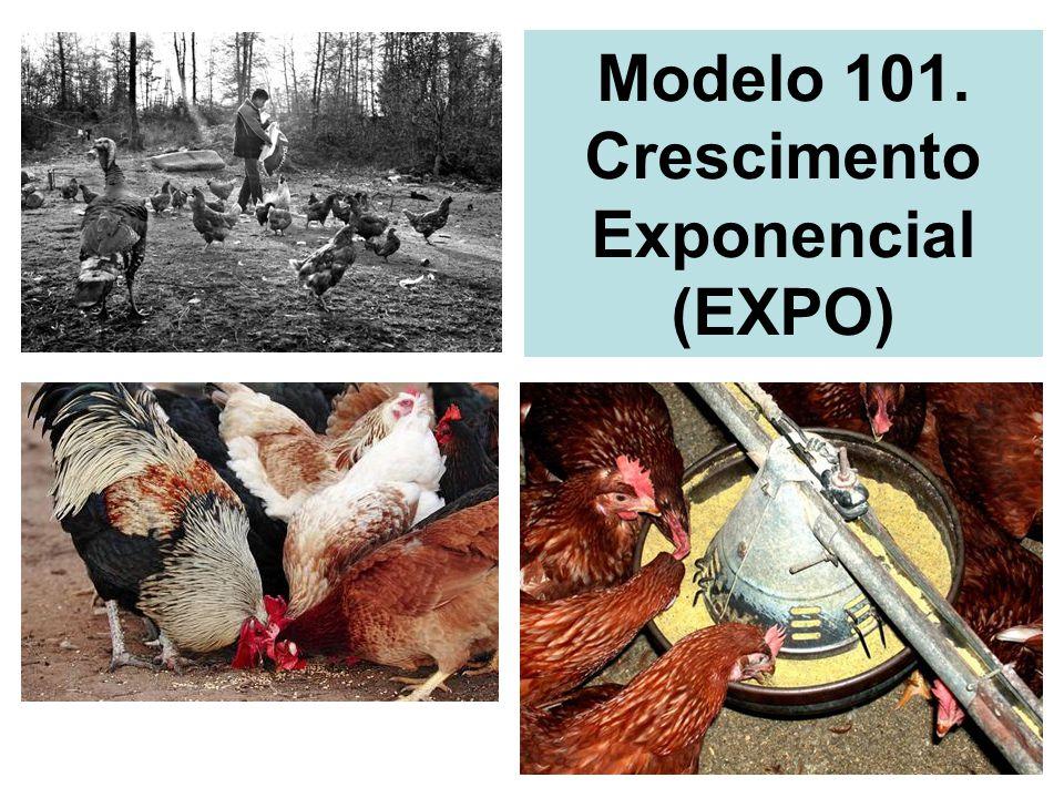 Modelo 101. Crescimento Exponencial (EXPO)
