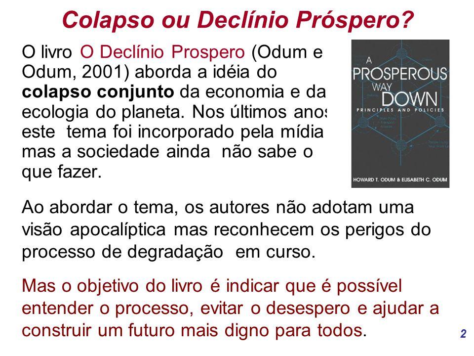 Colapso ou Declínio Próspero
