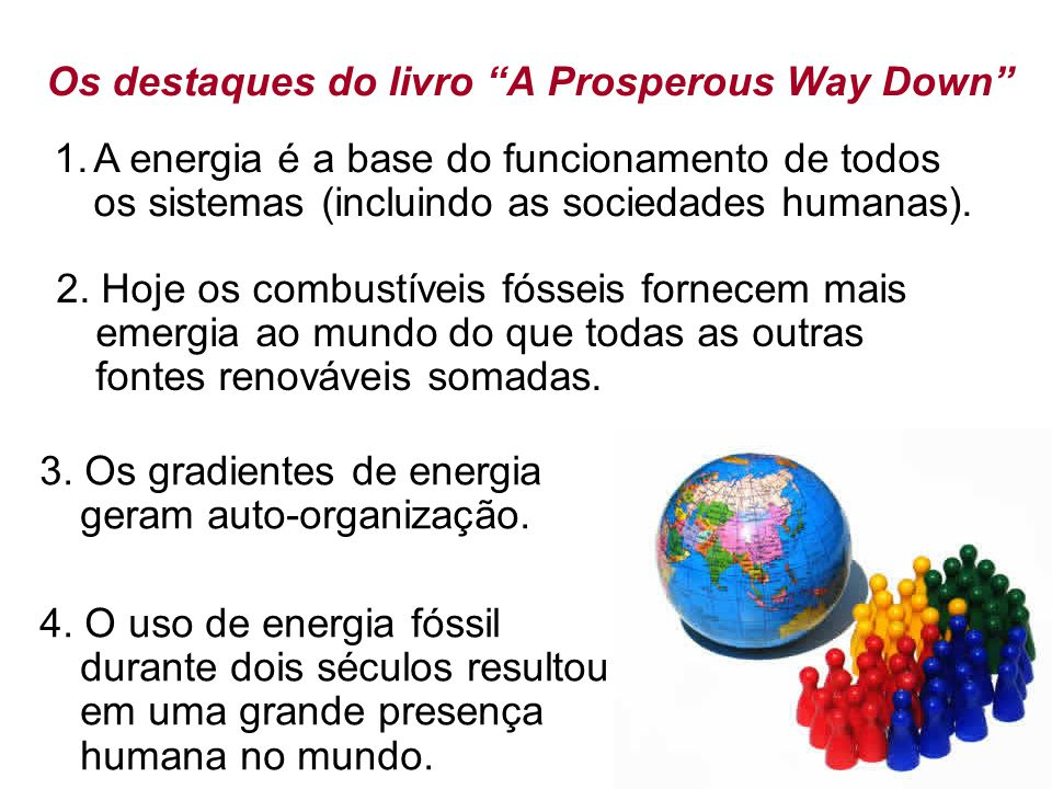 Os destaques do livro A Prosperous Way Down