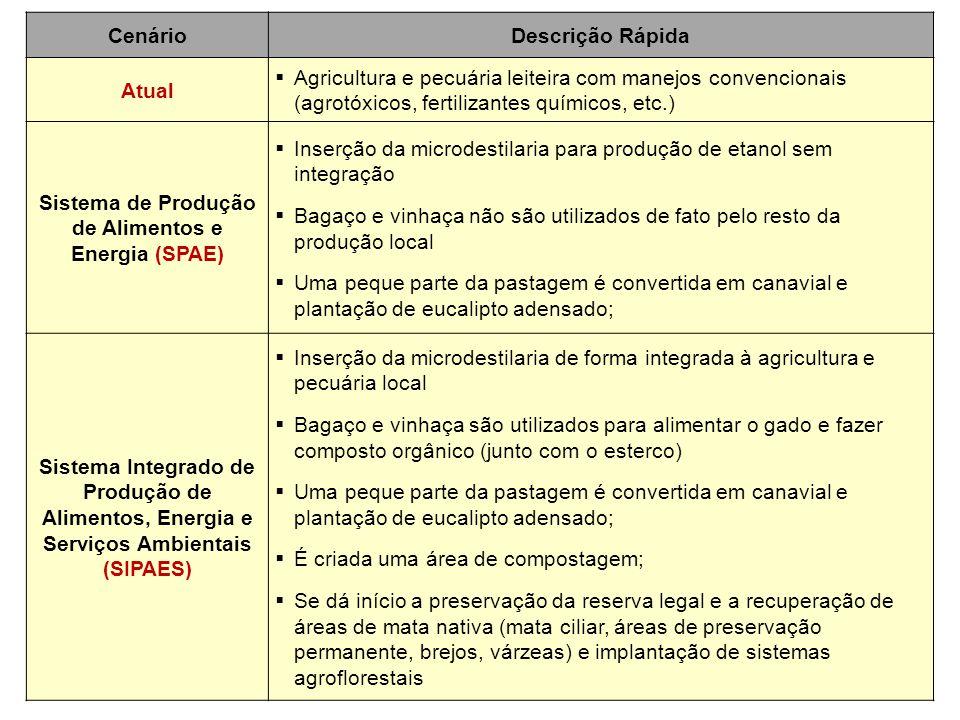 Sistema de Produção de Alimentos e Energia (SPAE)